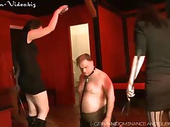 Chubby slave needs harsh punishment