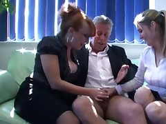 SPH femdom babes wank concentrated load of shit waiting for well-found climaxes intense