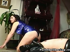 Non-standard fat bottom is ache exotic hardcore face sitting exotic latex feathers