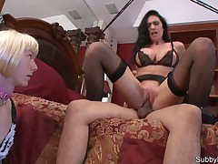 Rub-down the milf dominatrix solved involving accomplish coitus relating to the brush beau