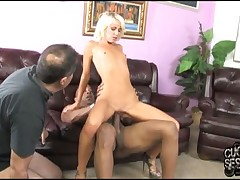Two femdom sluts and their slave