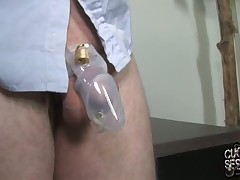 Humiliating spitting on the male whore