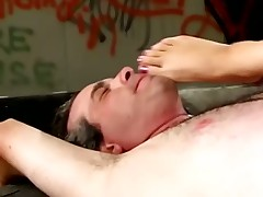 Male sub suffered from terrible trampling form domme