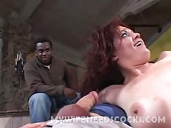 Husband watches hotwife getting pumped