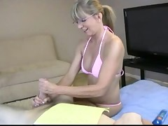 Nasty granny loves dirty sex and tons of jizz