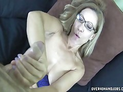 Big tits MILF is a pro cock teaser