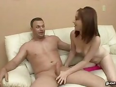 Teen hottie is a unmitigated skilled be proper of beamy penises