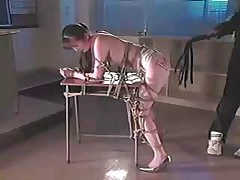 Asian Girl Bondaged and Whipped 1-2