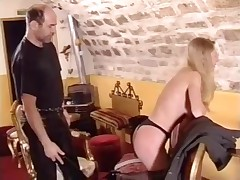 French Soumisive girl hard spanked 1