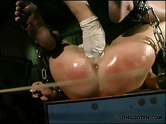 Finger fucked and hard caned Amy.
