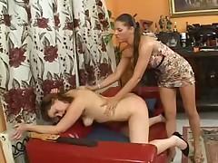 Anca's Spanking Lick My Pussy xLx