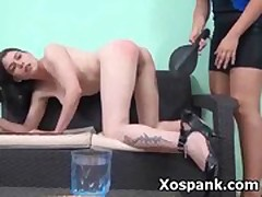 Tempting wild Furious Spanking Girl Fetish Punishment