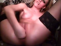 Blonde Extreme Webcam Masturbation 2 of 2