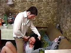Russian young dame vituperative fucked 10p