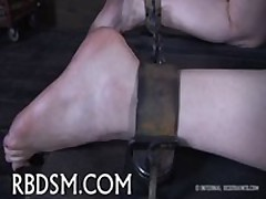 Chained sweetheart needs sexy torture