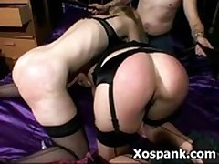 Wild Naughty Vigorous Spanking Domination