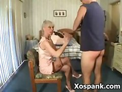 Wild Naughty Voluptuous Spanking Submission