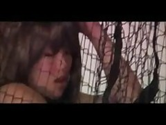 Thai Girlfriend Spanked Then Hung In A Net