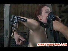 BDSM Slave Mia Electro and Torments - Slutload  free videos