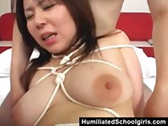 Asian Teen Fated Together with Toyed