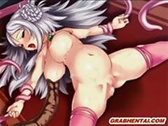 Bondage Japanese hentai deep fuckedsextube