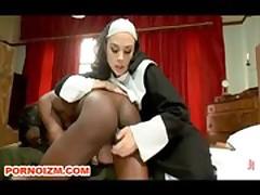 Interracial Bondage Lesbo Slave
