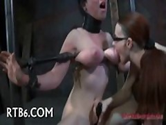 Big Titty Bound Babe