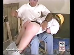 Caught and spanked