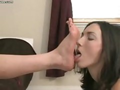 Lesbian Foot Worship and Domination - Mistress Claire and Wenona