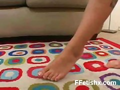 Vibrant Foot Fetish Chick XXX Porn