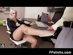 Foot Fetish Teen In Extreme Dom Play