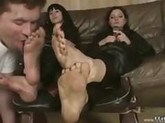 Foot Fetish Teen In Vibrant Fetish Makeout