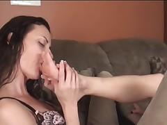 Lesbian Foot-Fetish Fever
