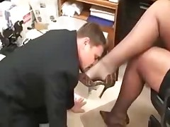Girl Foot Worship