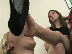 Sexy Lesbian Foot Worship - Dia Zerva And Mistress Claire