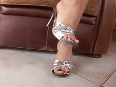 Foot fetish sexy high heels
