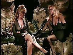 mature lesbians foot fetish