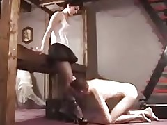 Foot Worship and spanking