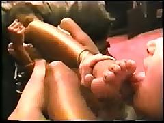 Ebony & Latina Lesbian Foot Worship