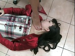 Fumiko Trampled And Foot Worship Part 2