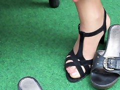 Nylon Stocking Foot Fetish X44