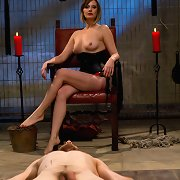 Maitresse Madeline turns out three newbie pieces of meat w..
