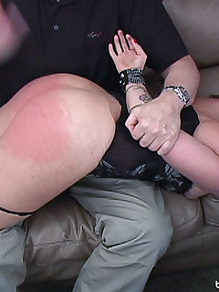 24 of Jenni Cakes gets a sound spanking