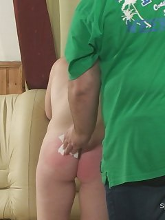 <!–-IMAGE_COUNT-–> of Natasha - Spanking, Suppository and Injection (angle 2)