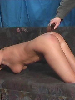 10 of Nice Ass Spanked with Leather Belt
