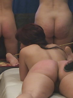 10 of Spanking with Hairbrush