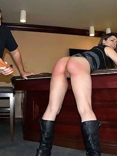 12 of Spanking Party Punishment for Ten Amorette