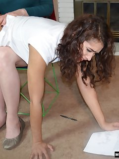 16 of Veronica Spanks New Roommate Kitty