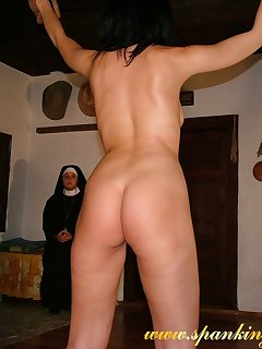 16 of Severe whipping of bad nun