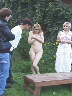 16 of Knickers ripped off for anal inspection and severe spanking - young lovely in tears